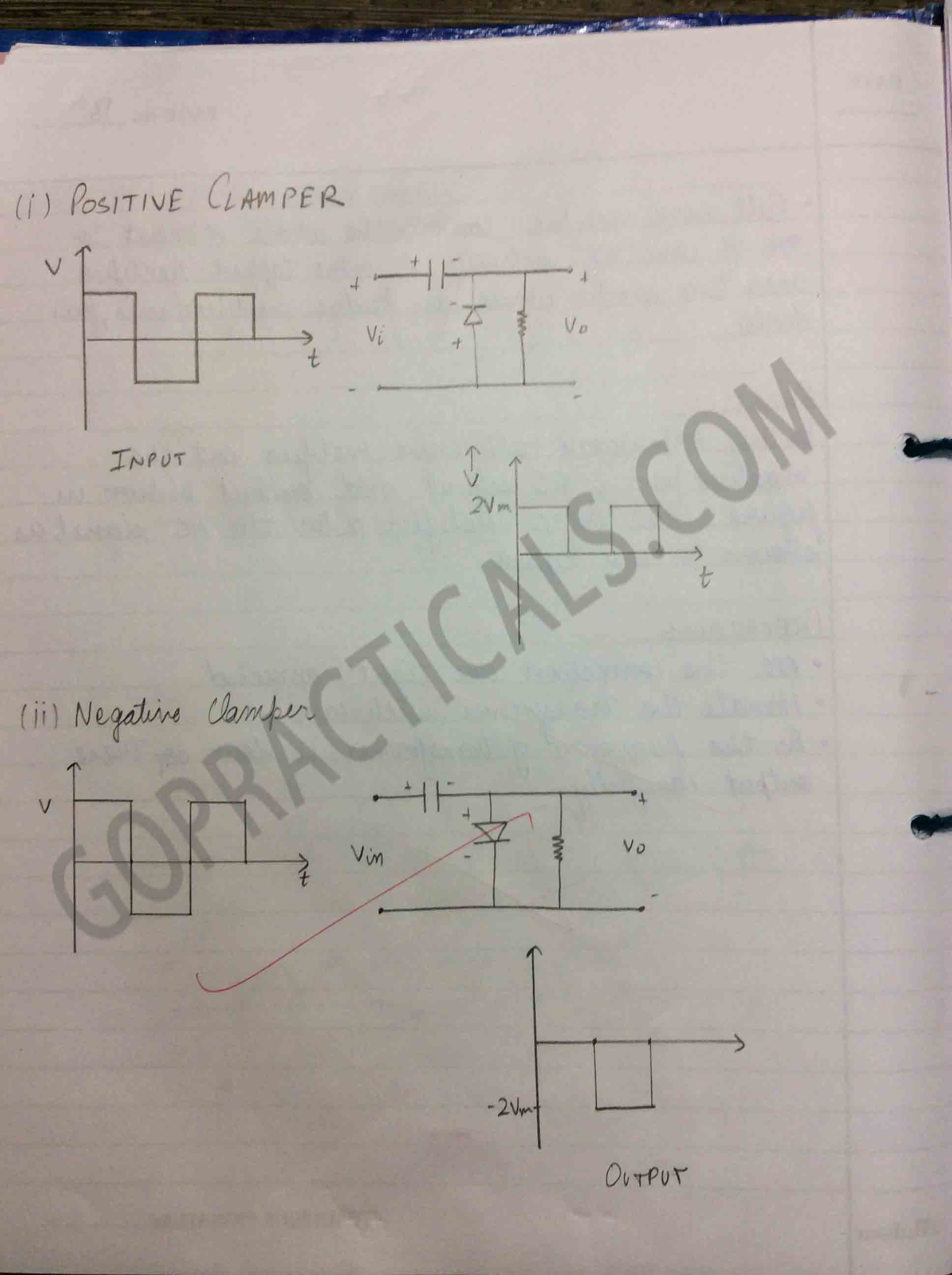 Diode Application in Clamper Circuit-2