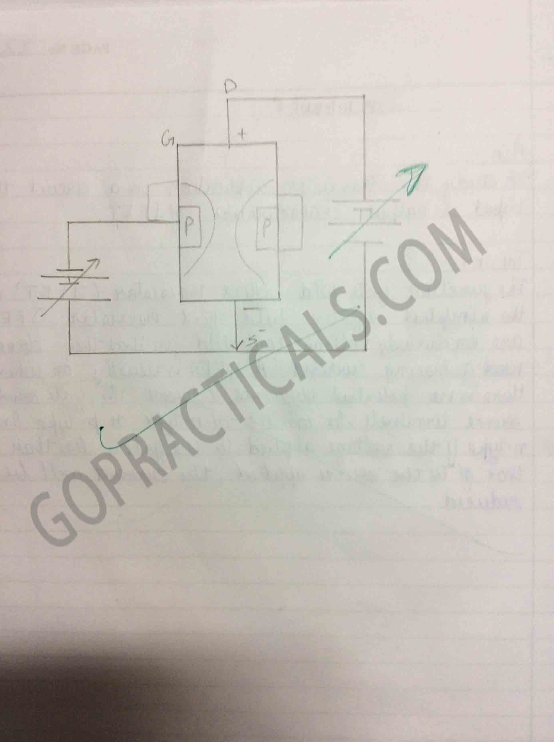 study Transistor Input/Output Characteristics of JFET-4