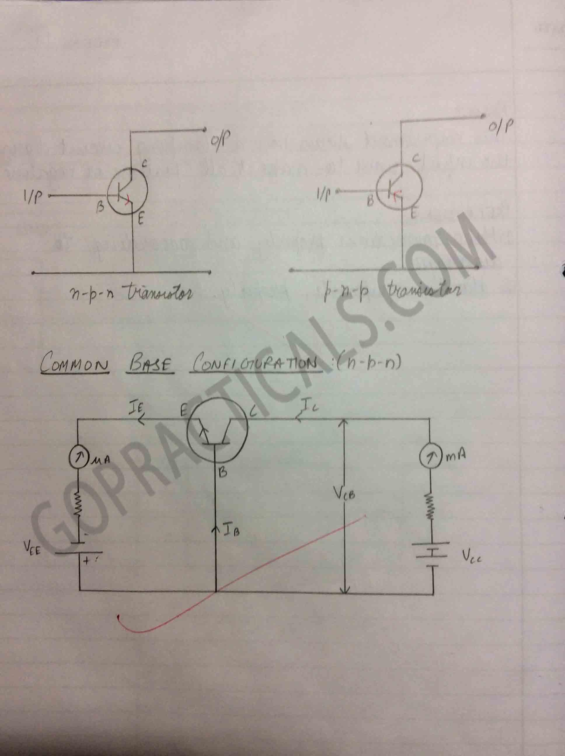 To study Transistor Input/Output Characteristics-2