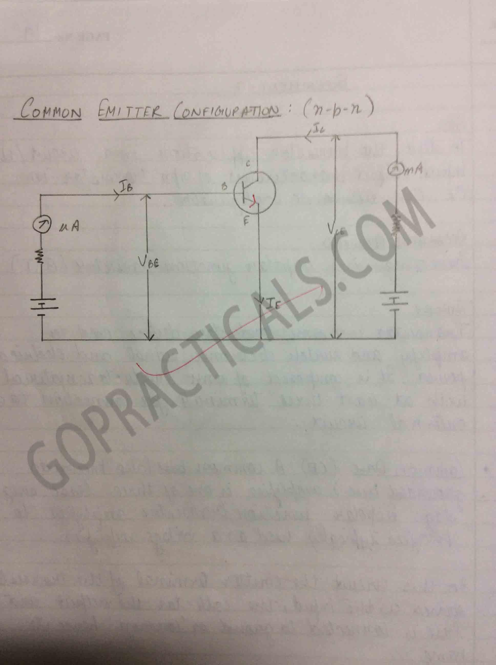 To study Transistor Input/Output Characteristics-4