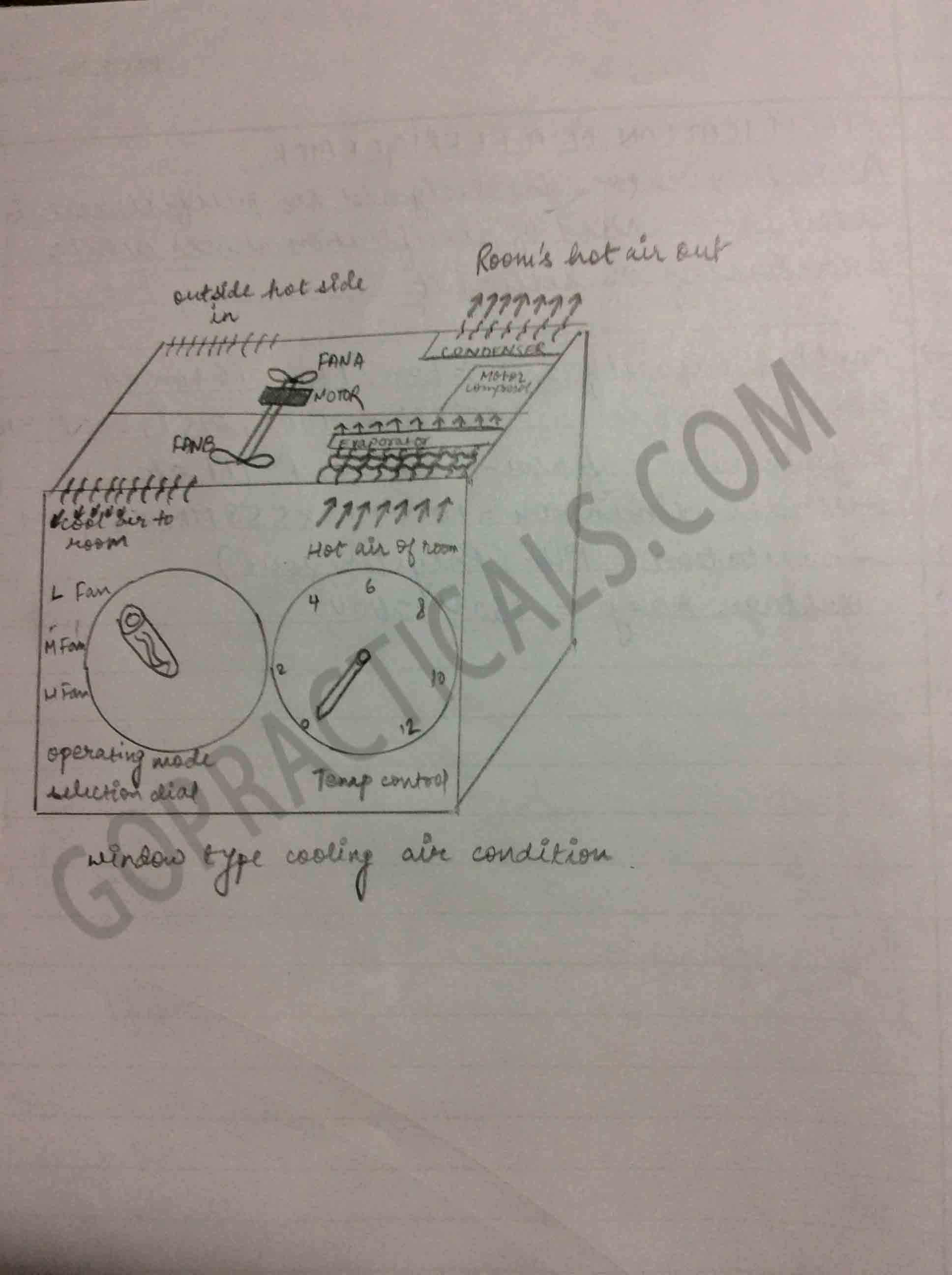 Study of vapour compression refrigerator mechanical practical-2