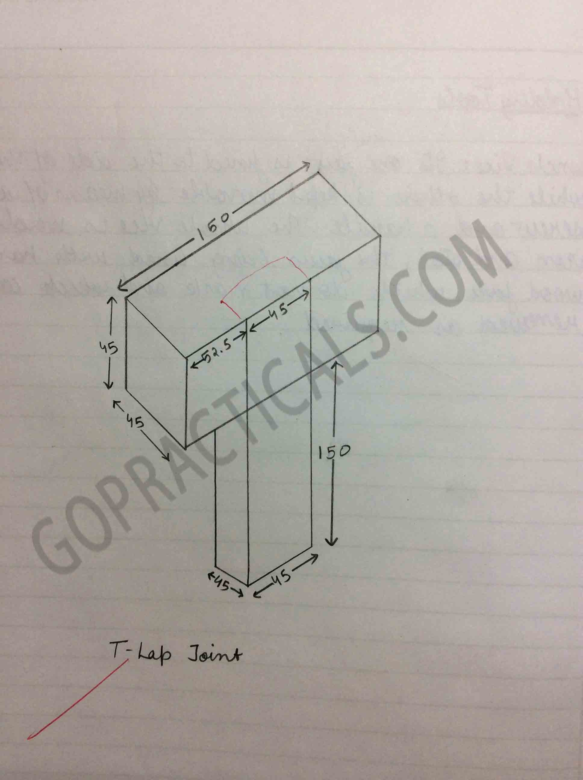 Experiment for the T lap Joint-4