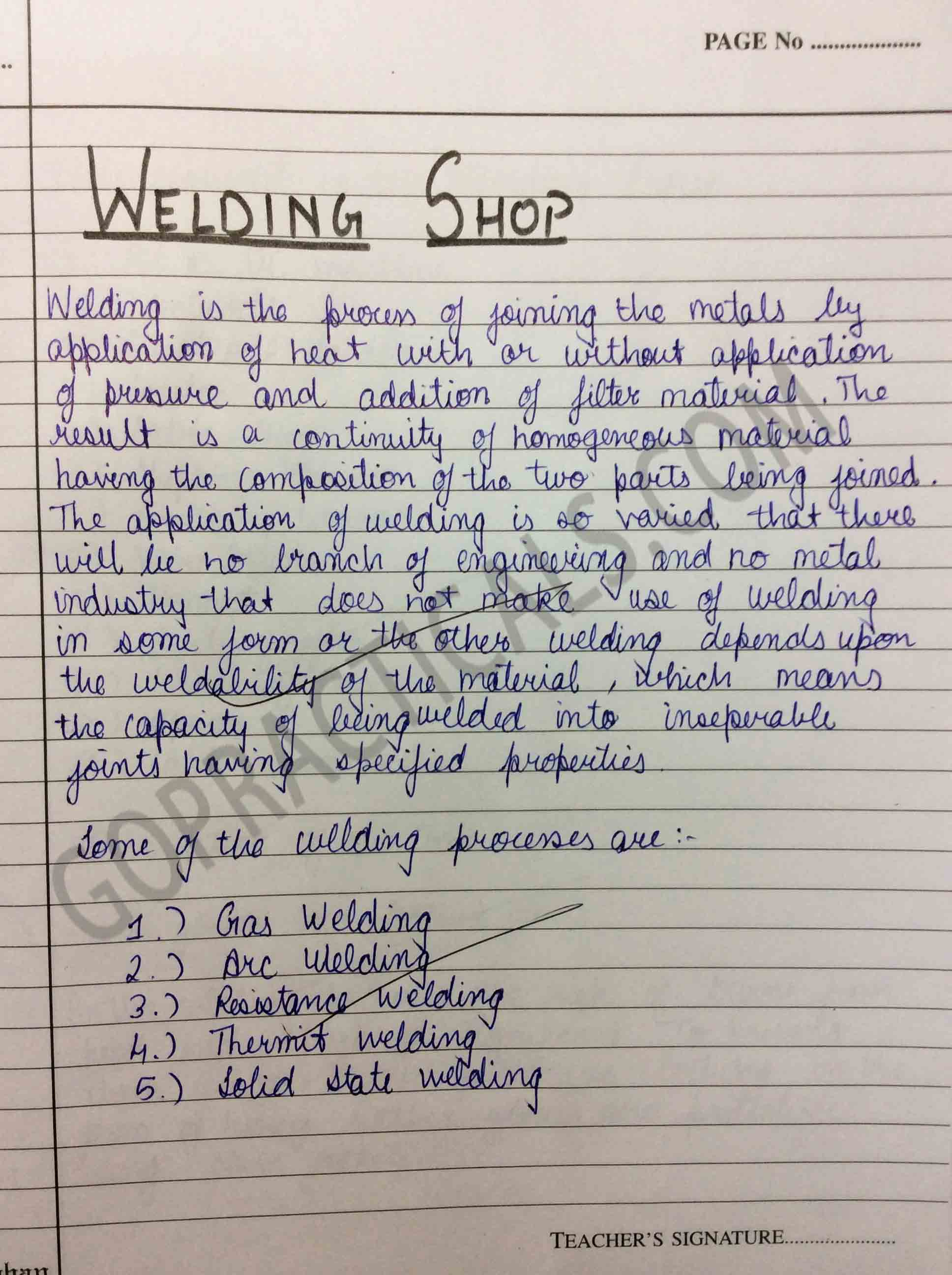 Welding Workshop Practical to make Lap Joint Part-1